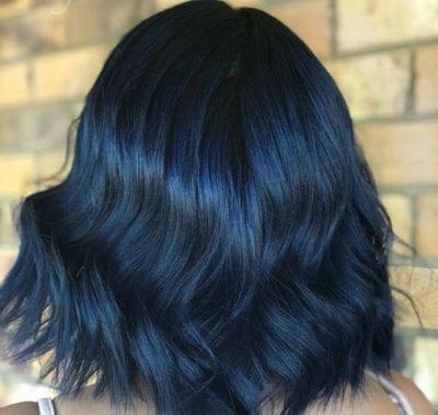 Tóc màu xanh đen - Ảnh 21