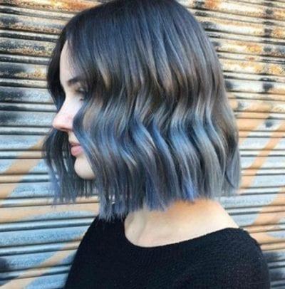 Tóc màu xanh đen - Ảnh 6