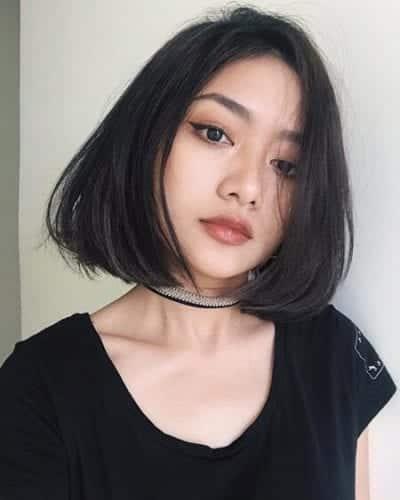 Kiểu tóc ngắn uốn cụp - Ảnh 1