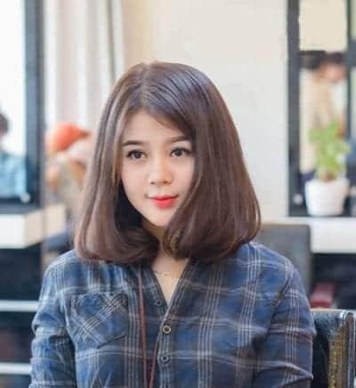 Kiểu tóc ngắn uốn cụp - Ảnh 17