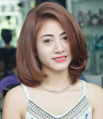 Kiểu tóc ngắn uốn cụp - Ảnh 24