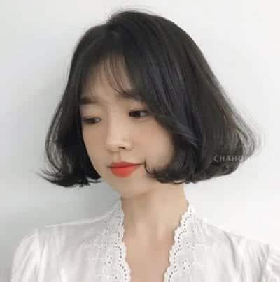 Kiểu tóc ngắn uốn cụp - Ảnh 28