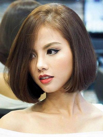 Kiểu tóc ngắn uốn cụp - Ảnh 35