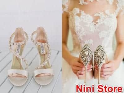 Top Địa chỉ mua giày cưới đẹp cho cô dâu - Nini Store