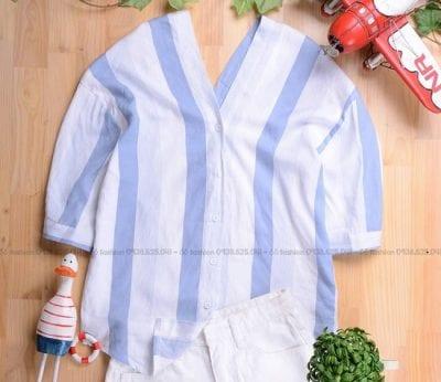 Áo sơ mi tại Ố Ồ Fashion phù hợp cho cả đi chơi và đi học với mức giá rẻ hơn so với những shop khác