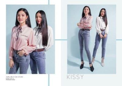 Những bộ quần áo đáng yêu, xinh xắn với gam màu hồng chủ đạo chính là phong cách đặc trưng của Kissy Shop