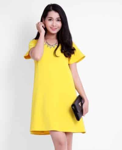Váy suông chữ A, lựa chọn hoàn hảo
