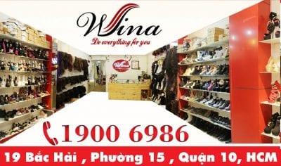 Cửa hàng giày dép nữ Wina