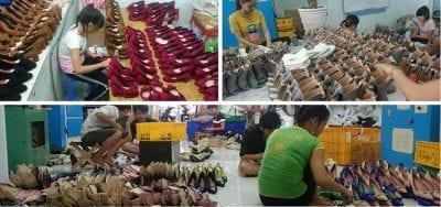 Top 5 xưởng giày dép chuyên sỉ uy tín tại Tp.HCM: Thái Nga