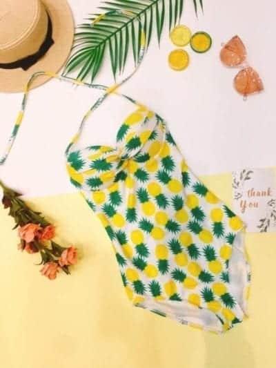 Bikini liền quần – giá sỉ 135,000 – 145,000đ /bộ.