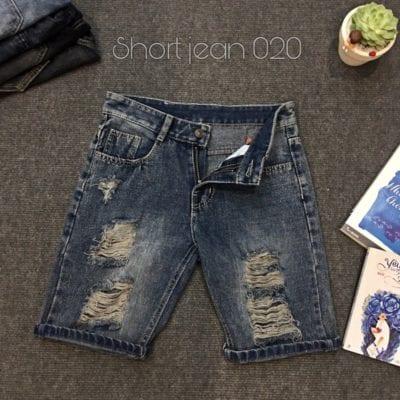 Quần short jean nam – giá sỉ 75,000 – 85,000đ /cái.