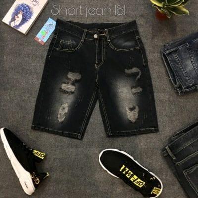 Quần short jean nam thời trang – giá sỉ 72,000 – 80,000đ /cái.