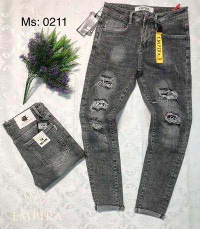 Quần jean nam dài 0211 – giá sỉ 180,000 – 200,000đ /cái.