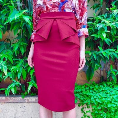 Chân váy peplum – giá sỉ theo số lượng: 130,000 – 160,000đ /cái.