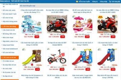 Cửa hàng đồ chơi trẻ em Baby Của Tôi