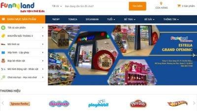 Cửa hàng đồ chơi trẻ em Funny Land