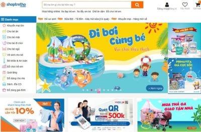 Cửa hàng đồ chơi trẻ em Shop Trẻ Thơ