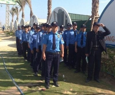 Dịch vụ bảo vệ công trình tại Công ty Thành Đạt