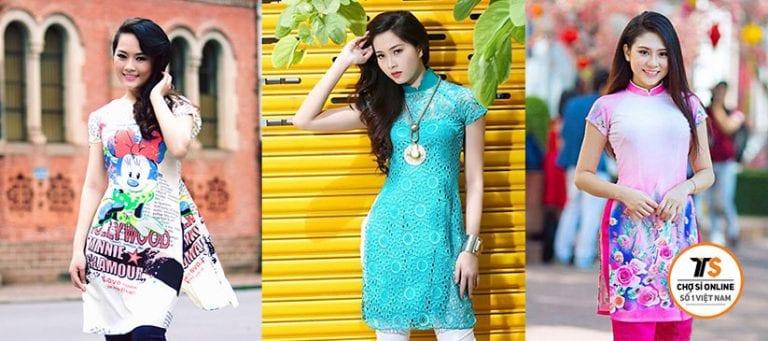 5 Nhà bán sỉ 'áo dài cách tân' giá vừa tốt, kiểu lại đẹp