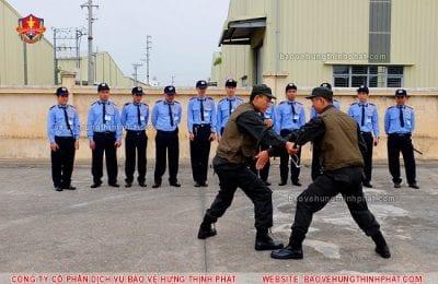 Đào tạo kỹ năng phòng vệ cho nhân sự tại Công ty Hưng Thịnh Phát