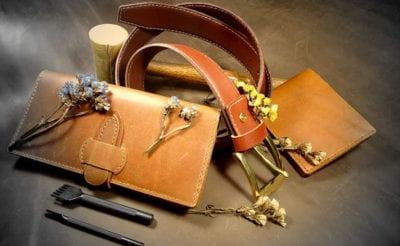 Lea handmade leather