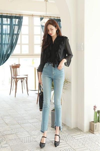 Mẹo mặc quần jean đúng cách giúp chị em trở nên hấp dẫn và quyến rũ hơn !!