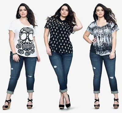 Mẹo mặc quần jean cho dáng người tròn béo