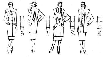 Tỷ lệ trong thiết kế trang phục - Ảnh 2
