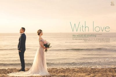 Váy cưới và Album cưới được thực hiện bởi RIn Wedding