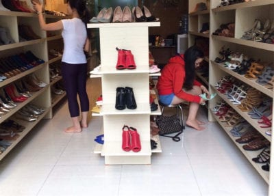 Shop giày Mona
