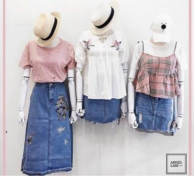 Angle Lam gây ấn tượng mạnh với các tín đồ thời trang bởi cách mix đồ vô cùng nữ tính, sành điệu và trẻ trung