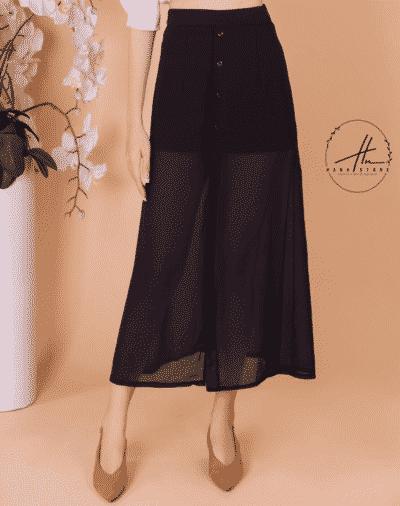 Chân váy chữ A có nút – giá sỉ 105,000 – 135,000đ /cái.