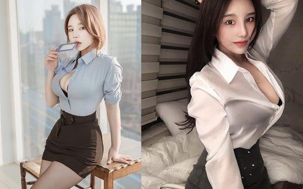 """Thời trang áo mỏng cố khoe """"nội y"""" lại đang phổ biến ở Hàn Quốc"""