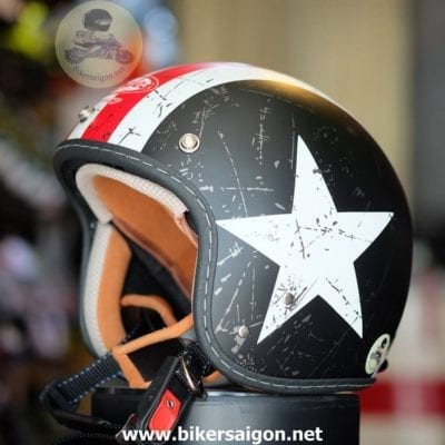 Mẫu mũ bảo hiểm của Shop Phượt Bikersaigon