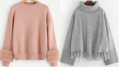 Tất cả các sản phẩm áo len tại Style Hàn Quốc Shop có chất vải rất tốt