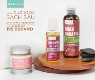 Hanah House chuyên bán những sản phẩm đã được làm sẵn tại shop theo công thức riêng độc quyền
