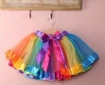 Váy Tutu tại Florastore75 được may theo số đo của cơ thể từng khách hàng