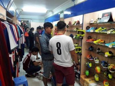 Yousport Shop là một trong những địa chỉ cung cấp đầy đủ đồ thể thao nam ở các bộ môn thể thao như quần áo bóng rổ, bóng đá,…