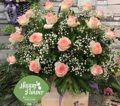 Mục tiêu của Happy Flowers là mang đến những trải nghiệm mua sắm qua mạng dễ dàng và tiện lợi