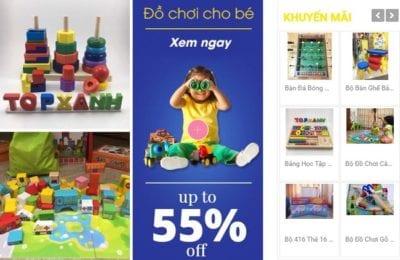 Cửa hàng đồ chơi Top Xanh