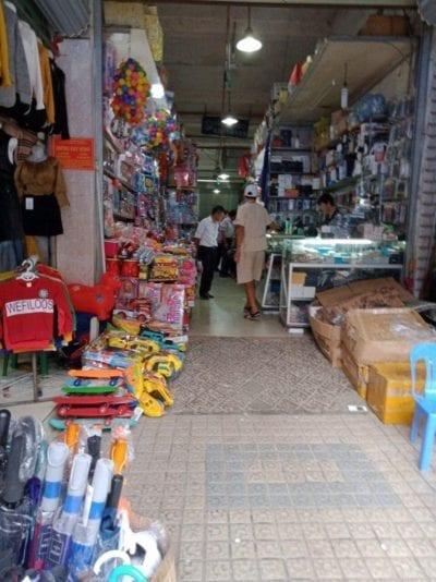 Cơ sở kinh doanh của Trung Tâm Thương Mại Lạng Sơn.