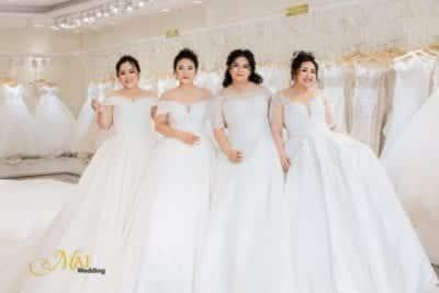 Đầm cưới Bigsize tại Mai Wedding