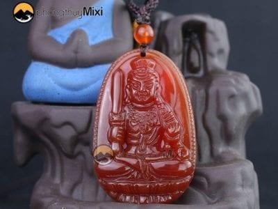 Dây chuyền mặt đá Phật bản mệnh tại Mixi