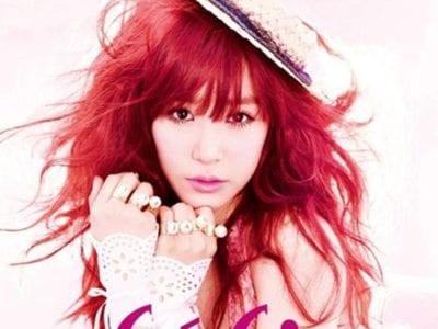 Tóc màu đỏ hồng nữ tính