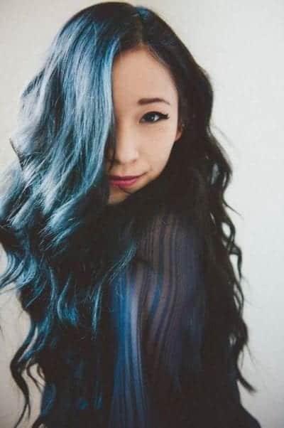 Màu xanh dương sáng da
