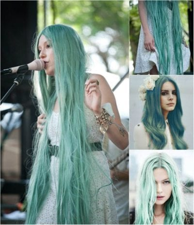 Màu xanh rêu trẻ trung