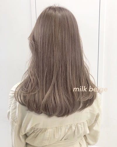 Tóc trà sữa: Màu tóc nhuộm siêu nịnh da nhìn thôi là đã yêu !!