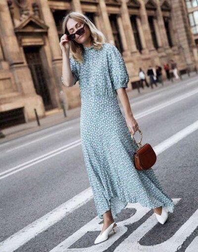Váy tay phồng không hề sến mà ngược lại là item hot được các fashionista ưa chuộng
