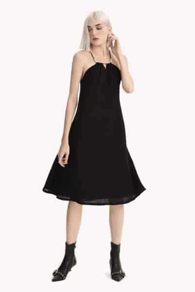 Váy xòe 2 dây quyến rũ