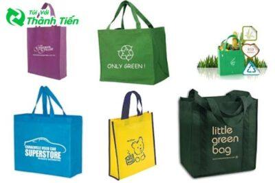 Các loại túi vải bảo vệ môi trường lên ngôi